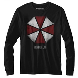 Resident Evil Mens Umbrella Long Sleeve T-Shirt