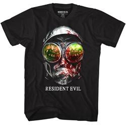 Resident Evil Mens Gasmask T-Shirt