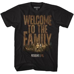 Resident Evil Mens Welcome T-Shirt