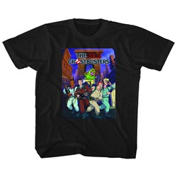 Ghostbusters Unisex-Child Poster-Ish T-Shirt