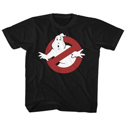 Ghostbusters Unisex-Child Symbol T-Shirt