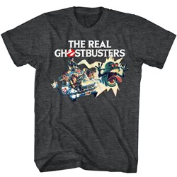 Ghostbusters Mens Car Chase T-Shirt