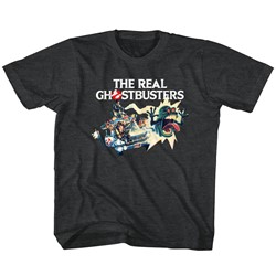 Ghostbusters Unisex-Child Car Chase T-Shirt