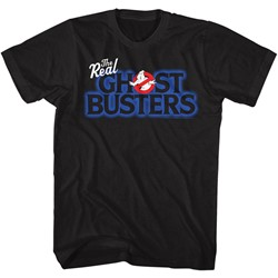 Ghostbusters Mens Real Logo T-Shirt