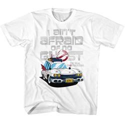 Ghostbusters Unisex-Child Aint Afraid T-Shirt