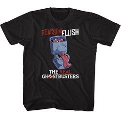 Ghostbusters Unisex-Child Fearsome Flush T-Shirt