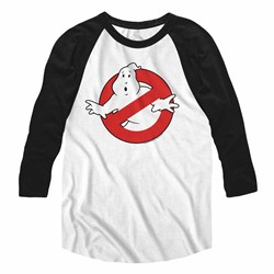 Ghostbusters Mens Symbol Raglan