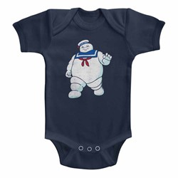 Ghostbusters Unisex-Baby Mr Stay Puft Onesie