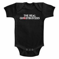 Ghostbusters Unisex-Baby Logo Onesie