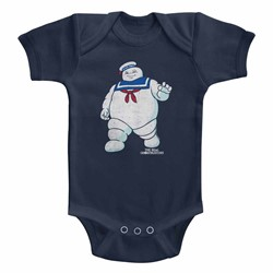 Ghostbusters Unisex-Baby Mr Stay Puft 2 Onesie