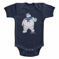Ghostbusters Unisex-Baby Mr Stay Puft 2 Onesie