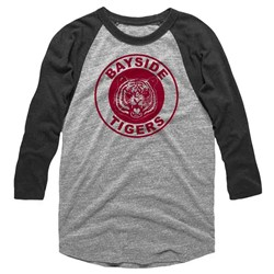Saved By The Bell Mens Bayside Tigers Raglan