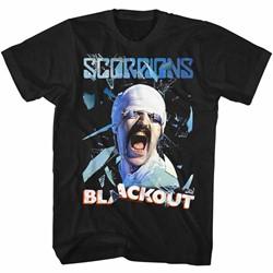 Scorpions Mens Blackout T-Shirt