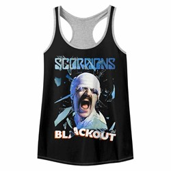 Scorpions Womens Blackout Racerback Tank Top