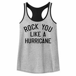 Scorpions Womens Like A Hurricane Racerback Tank Top