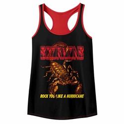 Scorpions Womens Irl Racerback Tank Top