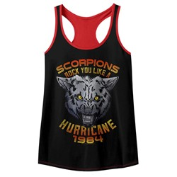 Scorpions Womens Wolf Racerback Tank Top
