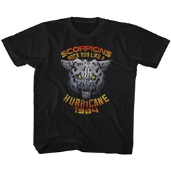 Scorpions Unisex-Child Wolf T-Shirt