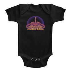Scorpions Unisex-Baby Bright Scorpion Onesie