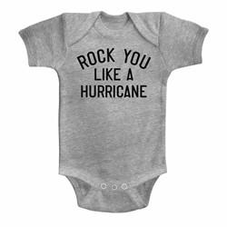 Scorpions Unisex-Baby Like A Hurricane Onesie