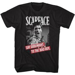 Scarface Mens Say Goodnight T-Shirt