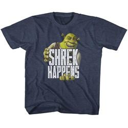 Shrek Unisex-Child Happens T-Shirt