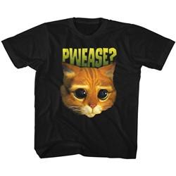 Shrek Unisex-Child Pwease? T-Shirt