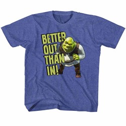 Shrek Unisex-Child Better Out T-Shirt