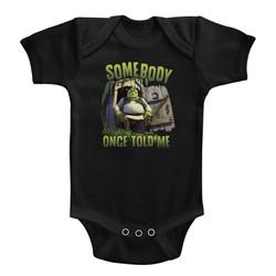 Shrek Unisex-Baby Sombody Onesie