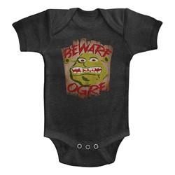 Shrek Unisex-Baby Beware Onesie