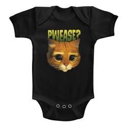 Shrek Unisex-Baby Pwease? Onesie
