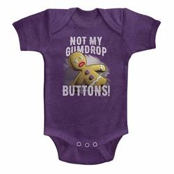 Shrek Unisex-Baby Gumdrop Buttons Onesie