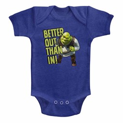 Shrek Unisex-Baby Better Out Onesie