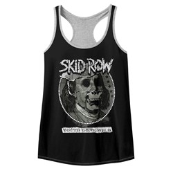 Skid Row Womens Dead Benji Racerback Tank Top
