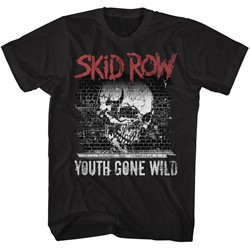 Skid Row Mens Graffiti Gone Wild T-Shirt
