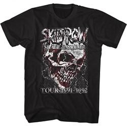 Skid Row Mens Skull Chain T-Shirt