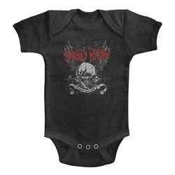 Skid Row Unisex-Baby Skull & Wings Onesie