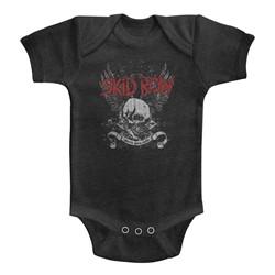 Skid Row Unisex-Baby Skull & Wings Onesie