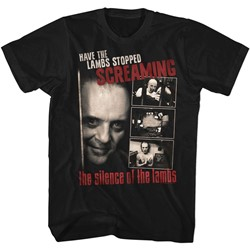 Silence of the Lambs Mens Screaming T-Shirt