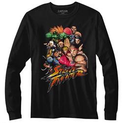 Street Fighter Mens Stftr Long Sleeve T-Shirt