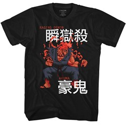 Street Fighter Mens Akuma T-Shirt