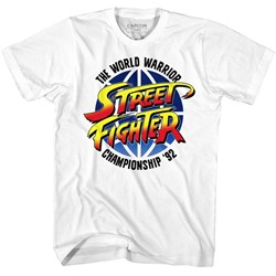 Street Fighter Mens World Warrior T-Shirt