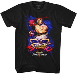 Street Fighter Mens Pro Tour - Ryu T-Shirt