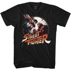 Street Fighter Mens Punchy T-Shirt
