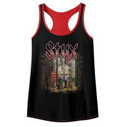 Styx Womens The Grand Illusion Racerback Tank Top