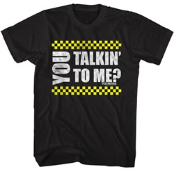 Taxi Driver Mens You Talkin' To Me? T-Shirt