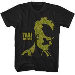 Taxi Driver Mens City Mohawk T-Shirt