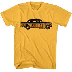 Taxi Driver Mens Taxi You Talking T-Shirt