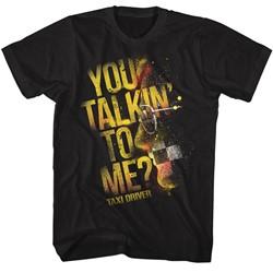 Taxi Driver Mens Talkin T-Shirt