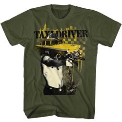 Taxi Driver Mens Taxi Face T-Shirt